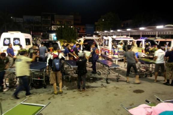 Tấn công đẫm máu ở miền Nam Thái Lan, 19 người thương vong - ảnh 1