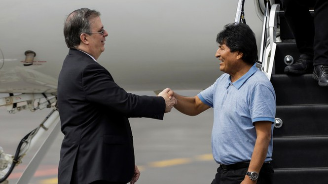 Gian nan đường đến Mexico tị nạn của cựu Tổng thống Bolivia - ảnh 4