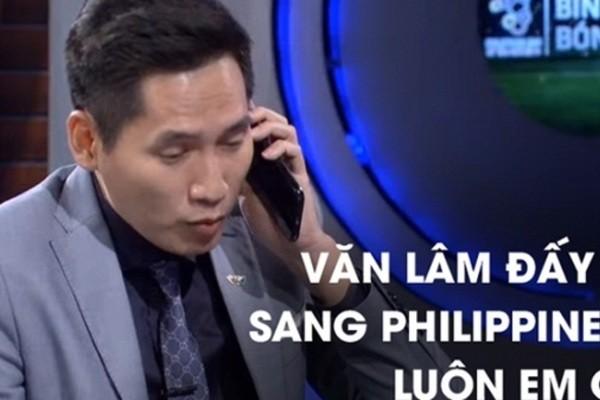 BTV Quốc Khánh xin lỗi thủ môn Tiến Dũng ngay trên sóng trực tiếp - ảnh 1