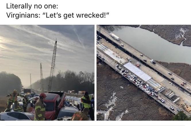 Gần 70 xe hơi đâm nhau liên hoàn, hàng chục người bị thương - ảnh 6