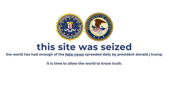 Trang web tranh cử của ông Trump bị tin tặc tấn công - ảnh 1
