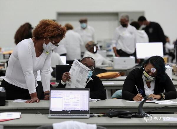 Mỹ sắp có cuộc bầu cử nhiều người bỏ phiếu nhất trong một thế kỉ - ảnh 17