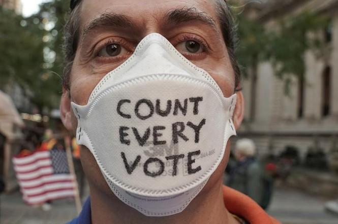 Mỹ: Biểu tình hậu bầu cử lan khắp nước Mỹ, 60 người bị bắt - ảnh 7