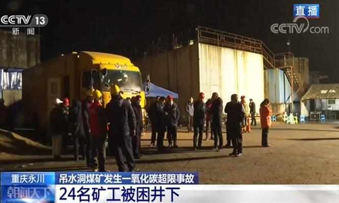 Trung Quốc: 18 thợ mỏ chết thảm vì ngộ độc khí CO2 - ảnh 1