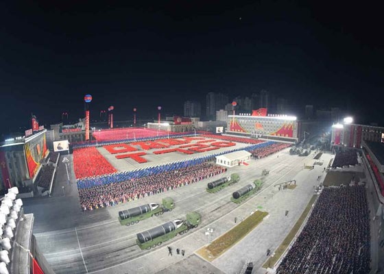 Triều Tiên duyệt binh hậu đại hội đảng, ra mắt tên lửa tàu ngầm mới - ảnh 13