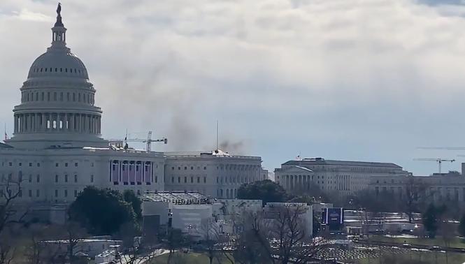 Điện Capitol bất ngờ bị phong tỏa giữa lúc diễn tập lễ nhậm chức của ông Biden - ảnh 1