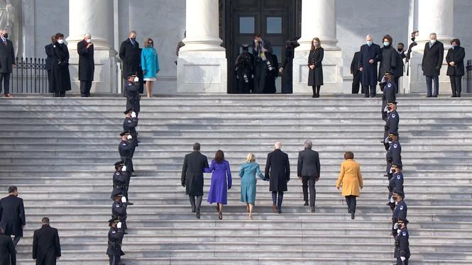 Trực tiếp: Ông Joe Biden tuyên thệ nhậm chức Tổng thống Mỹ thứ 46 - ảnh 25