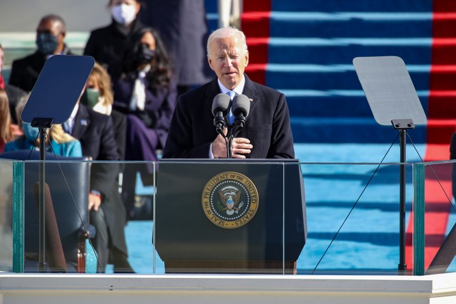 Trực tiếp: Ông Joe Biden tuyên thệ nhậm chức Tổng thống Mỹ thứ 46 - ảnh 4
