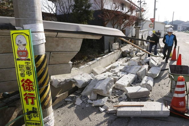 Shock reveal of 7.1 magnitude earthquake injured 48 people in Japan - photo 2