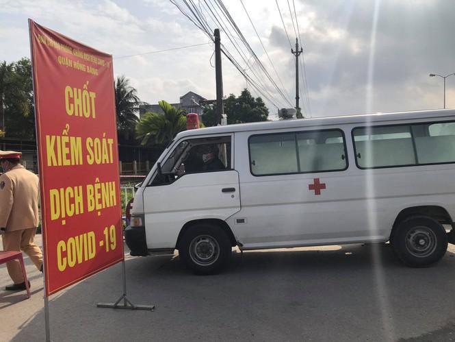 Phong tỏa Bệnh viện GTVT Hải Phòng - ảnh 2