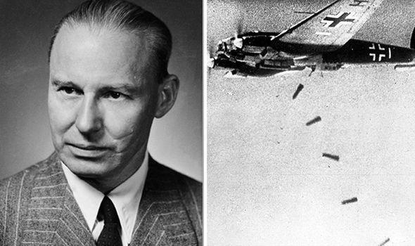 vũ khí bí mật của Adolf Hitler máy bay ném bom tia laser nhà toán học Đức - ảnh 1