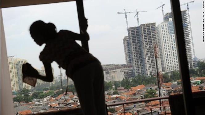 người giúp việc ô-sin Indonesia Singapore Hong Kong IS tuyển dụng tài trợ khủng bố - ảnh 4