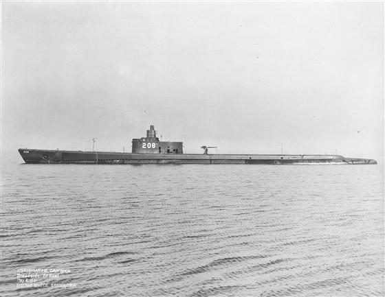 tàu ngầm Mỹ máy bay ném bom Nhật Bản đánh chìm chiến tranh thế giới thứ 2 - ảnh 1