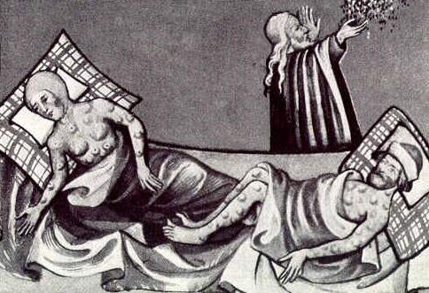 dịch hạch cái chết đen Trung Quốc châu Âu bệnh nhân - ảnh 1