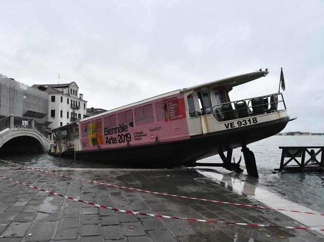 Venice ngập trong nước triều cường lịch sử - ảnh 5