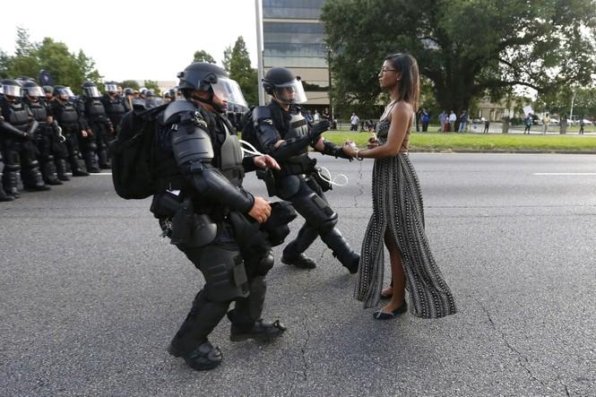 biểu tình bức ảnh cảnh sát chống chính phủ Mỹ Hong Kong Venezuela - ảnh 7