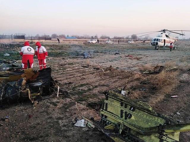 máy bay Boeing rơi Ukraine Iran không kích căn cứ quân sự Mỹ ở Iraq - ảnh 1