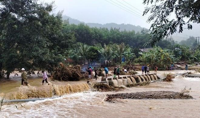 Bình Định: Hơn 1.000 ngôi nhà bị ngập, lũ quét gây sạt lở nhiều nơi - ảnh 3