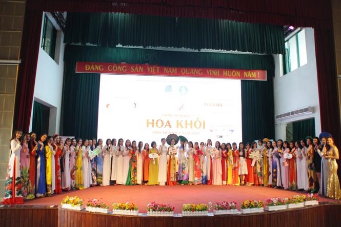 Hơn 80 thí sinh dự sơ khảo Hoa khôi Sinh viên Việt Nam tại Đà Nẵng - ảnh 1