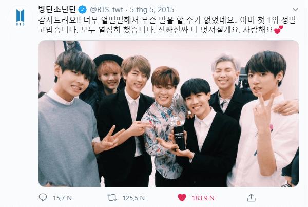 Ngày này năm xưa: Chiến thắng đầu tiên đầy cảm xúc của BTS  - ảnh 2