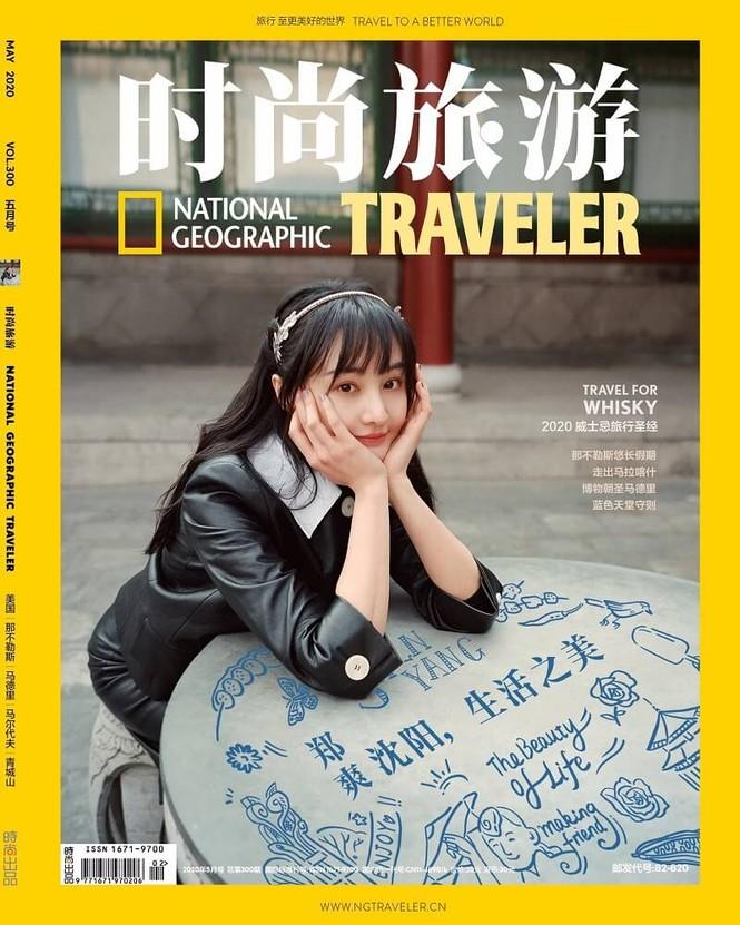 Ngắm Trịnh Sảng xinh lung linh trên bìa tạp chí Thời Thượng Du Lịch tháng 5 - ảnh 1