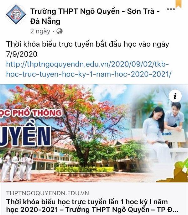 Đà Nẵng: Dự khai giảng online có 1-0-2, teen nhớ bạn bè, thầy cô, trường lớp lắm rồi! - ảnh 2