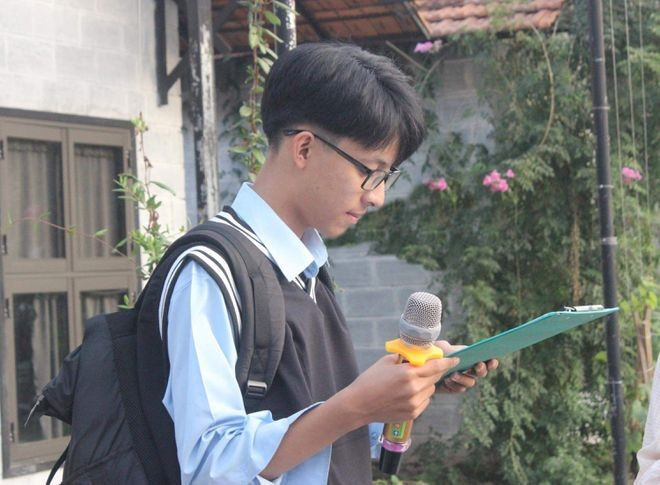 Độc nhất vô nhị: Nam sinh chuyên Toán nhưng đạt giải Nhất môn Văn cấp quốc gia - ảnh 1