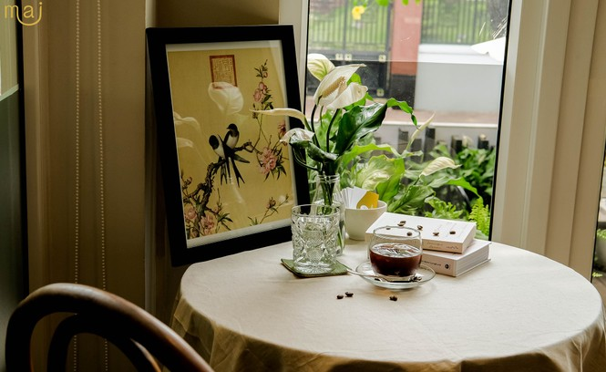 TP.HCM: Cửa tiệm cà phê đẹp như một bức tranh dành cho những teen mê không gian lãng mạn - ảnh 5