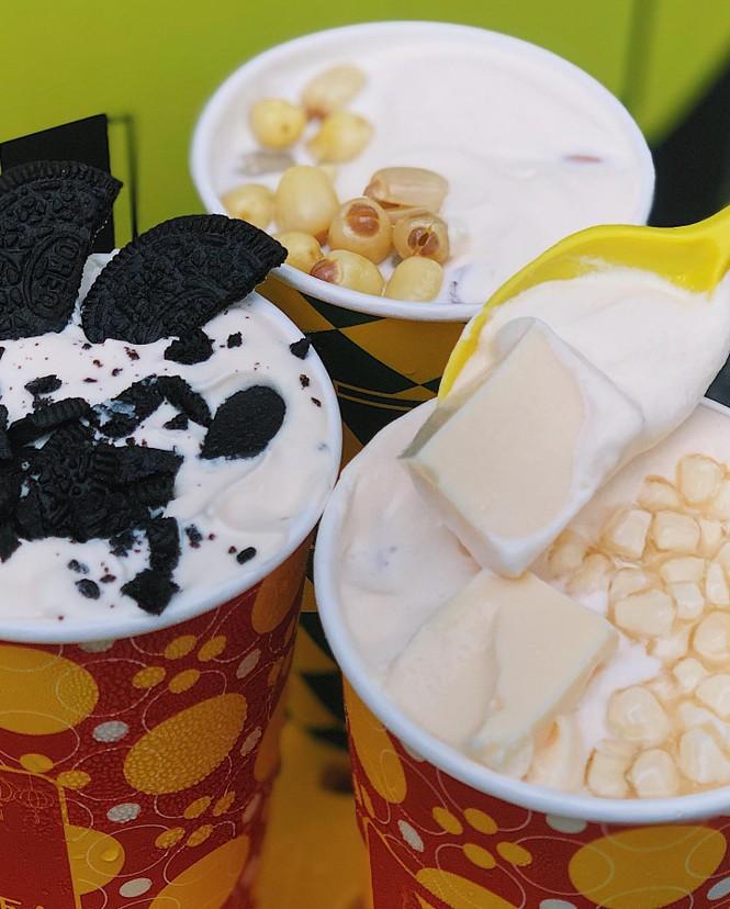 Kem trứng cháy và trà sữa phô mai cho những tín đồ không sợ béo - ảnh 5