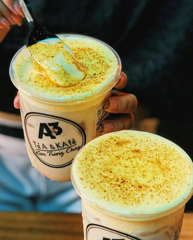 Kem trứng cháy và trà sữa phô mai cho những tín đồ không sợ béo - ảnh 2