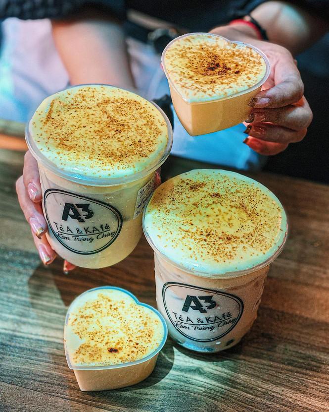 Kem trứng cháy và trà sữa phô mai cho những tín đồ không sợ béo - ảnh 3