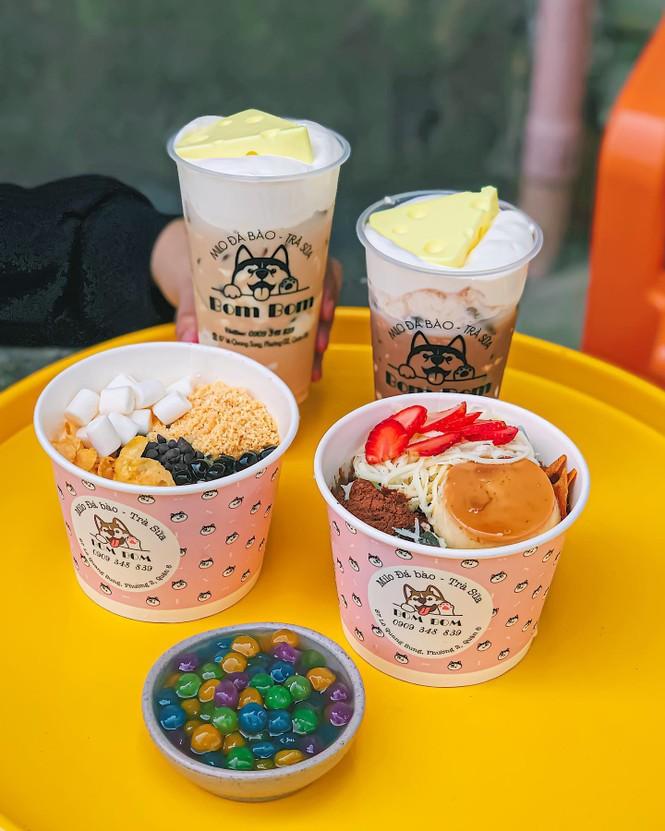 Trà sữa tuổi thơ kem cheese và trà sữa phô mai 3 tầng, bạn chọn thơm béo theo kiểu nào? - ảnh 7
