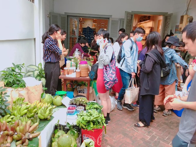 Chợ phiên Tháng Mười Hai: Thiên đường dành cho những tâm hồn yêu môi trường và mê đồ organic  - ảnh 4