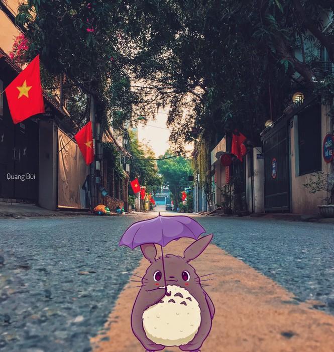 Ngắm Hà Nội thật bình yên trong buổi sáng ngày cuối tuần đầu tiên sau kỳ nghỉ Tết - ảnh 6