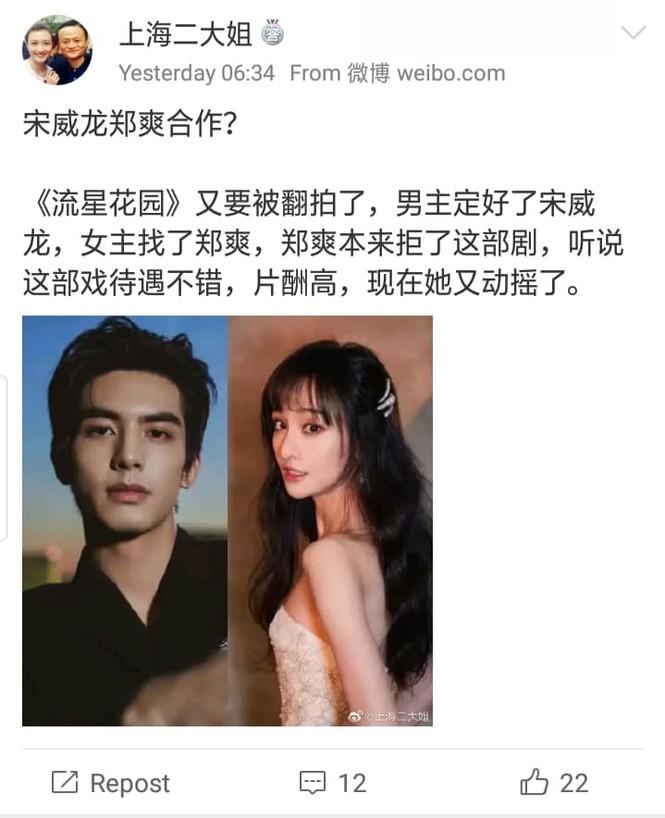 """""""Vườn Sao Băng"""" remake - nữ chính gọi tên Trịnh Sảng, netizen chỉ biết lắc đầu ngao ngán - ảnh 3"""