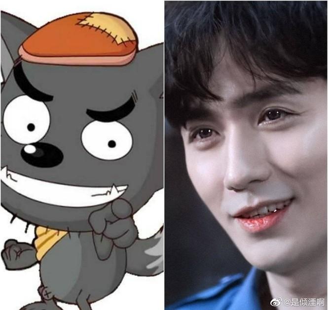 Bất ngờ với loạt nhân vật hoạt hình cực giống Trương Tân Thành, Lý Hiện, Angelababy... - ảnh 2