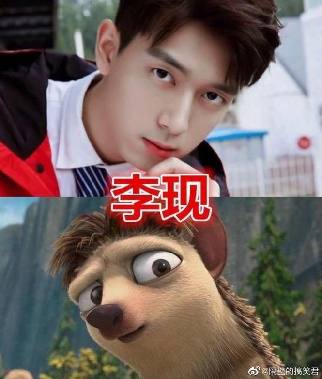 Bất ngờ với loạt nhân vật hoạt hình cực giống Trương Tân Thành, Lý Hiện, Angelababy... - ảnh 4