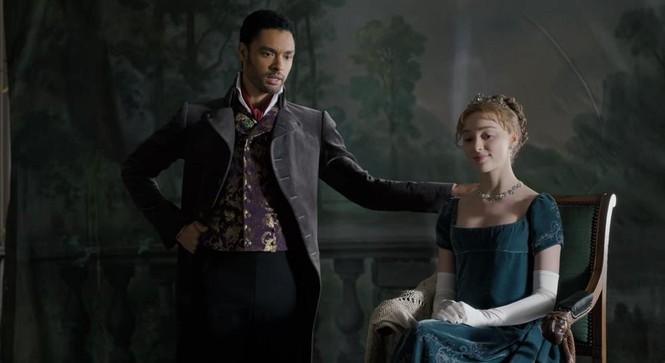 """""""Bridgerton"""" và những bộ trang phục lộng lẫy: Mỗi một màu sắc """"bật mí"""" một bí mật  - ảnh 12"""