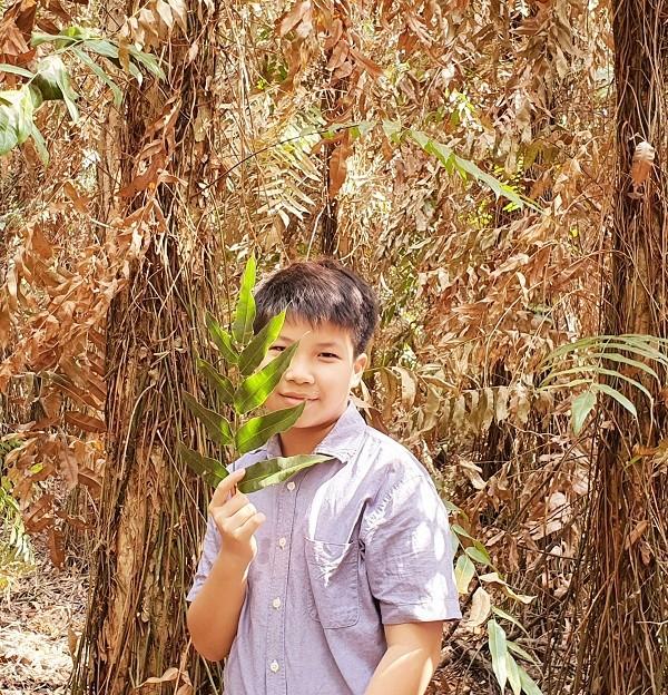 Tác giả nhí Cao Khải An: Con trai Nguyễn Ngọc Tư, ở nhà nghỉ dịch viết truyện thiếu nhi - ảnh 3
