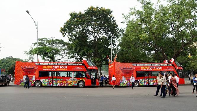 Hà Nội khai trương xe buýt 2 tầng phục vụ khách du lịch - ảnh 4
