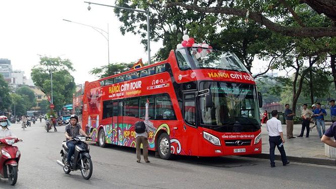 Hà Nội khai trương xe buýt 2 tầng phục vụ khách du lịch - ảnh 5
