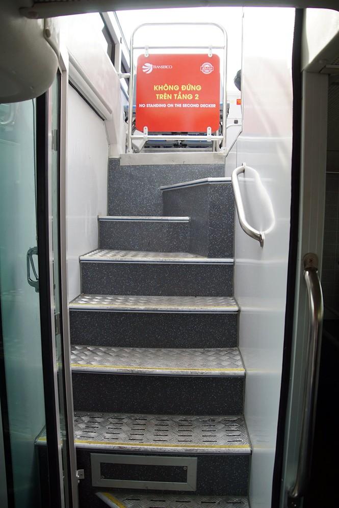 Hà Nội khai trương xe buýt 2 tầng phục vụ khách du lịch - ảnh 13