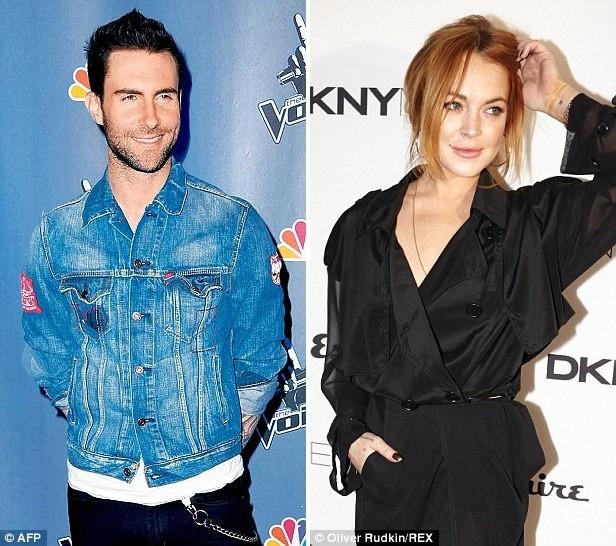 Giám khảo The Voice Mỹ phủ nhận 'qua đêm' cùng Lindsay Lohan - ảnh 1