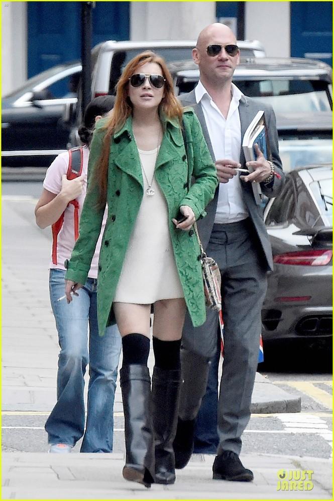 Giám khảo The Voice Mỹ phủ nhận 'qua đêm' cùng Lindsay Lohan - ảnh 4