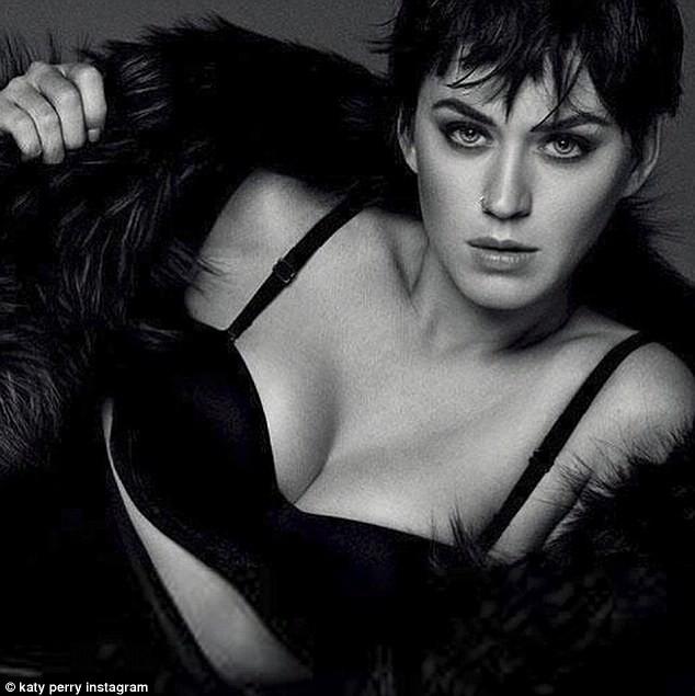 Katy Perry gợi cảm chụp hình nội y cho tạp chí Nhật Bản - ảnh 1