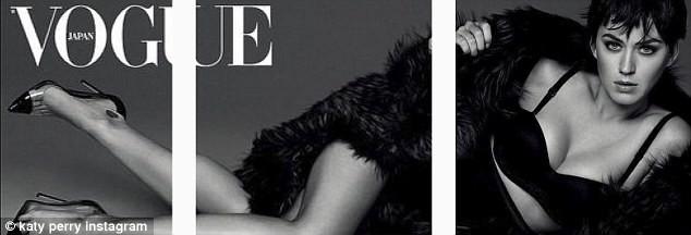 Katy Perry gợi cảm chụp hình nội y cho tạp chí Nhật Bản - ảnh 2