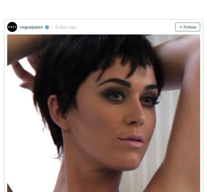 Katy Perry gợi cảm chụp hình nội y cho tạp chí Nhật Bản - ảnh 4