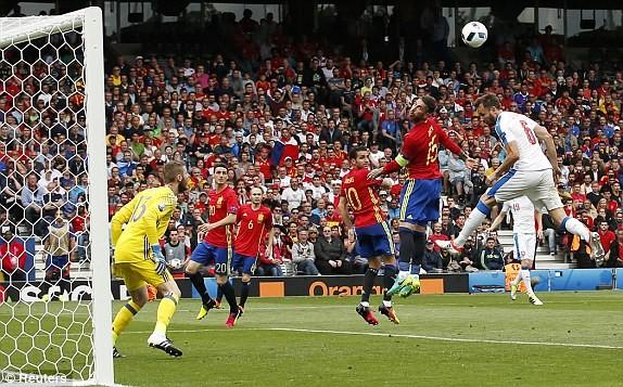 Cận cảnh trận thắng nhọc nhằn của Tây Ban Nha - ảnh 11