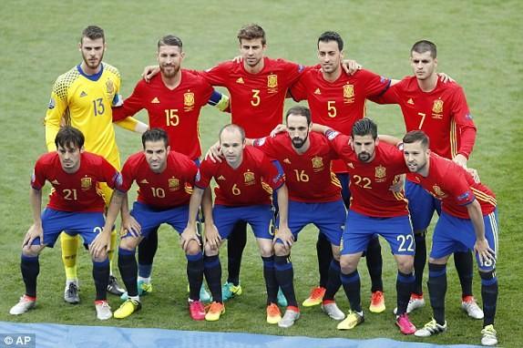 Cận cảnh trận thắng nhọc nhằn của Tây Ban Nha - ảnh 2