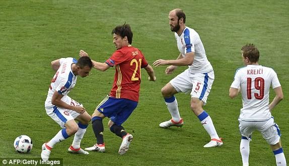 Cận cảnh trận thắng nhọc nhằn của Tây Ban Nha - ảnh 4